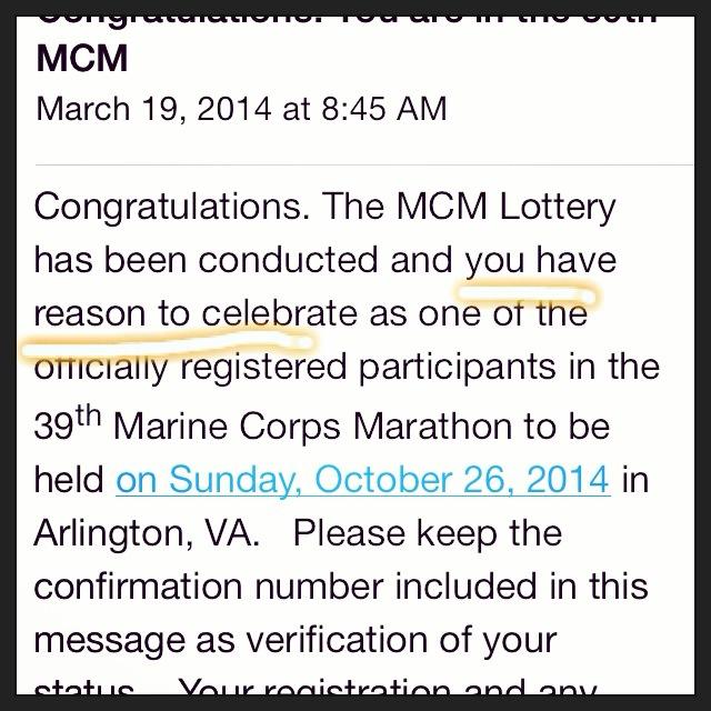 39th Marine Corps Marathon