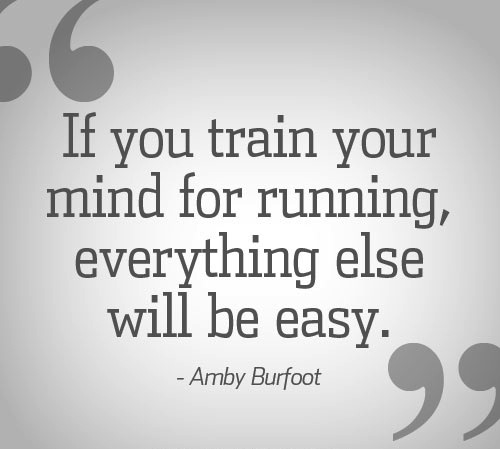 Amby Burfoot running quote