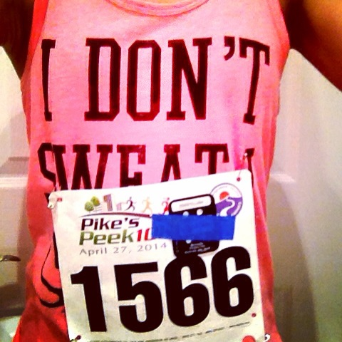 #RaceDaySelfie: Right before the Pikes Peek 10k in Rockville, Md.