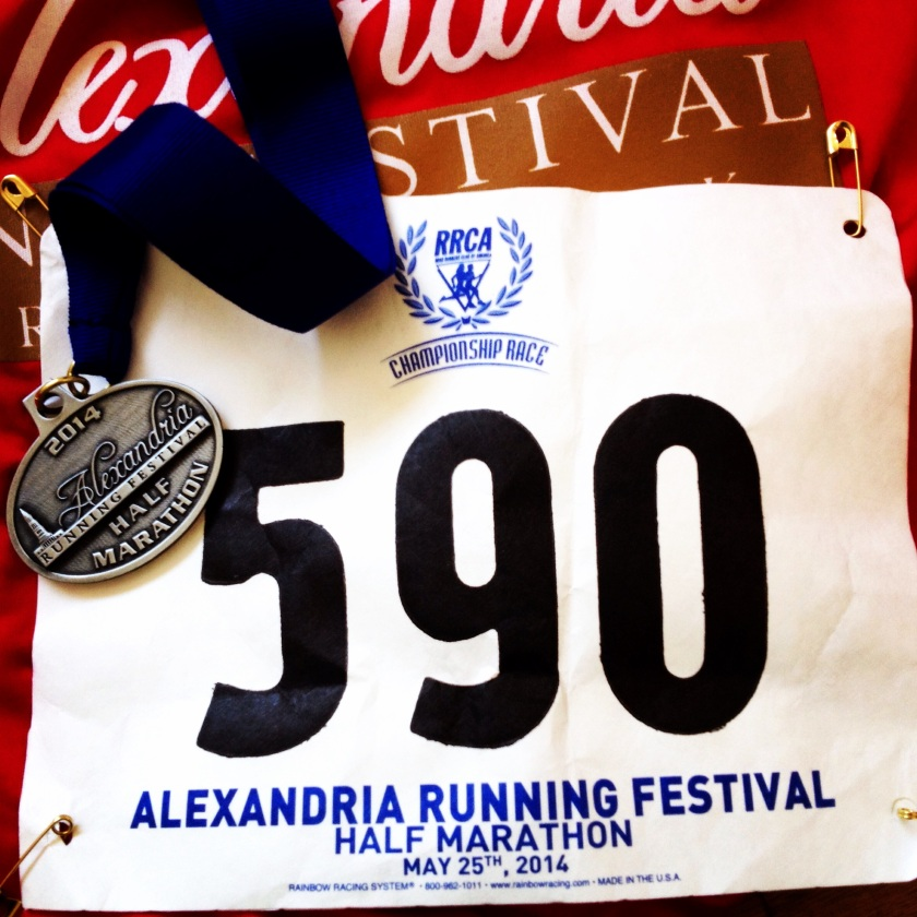 The Alexandria Running Festival was in honor of our military service members.