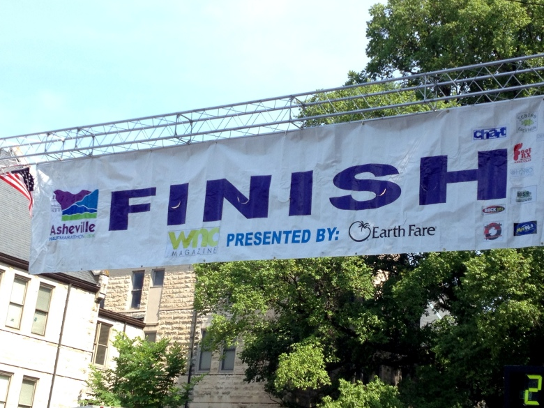 The Asheville Half... done!