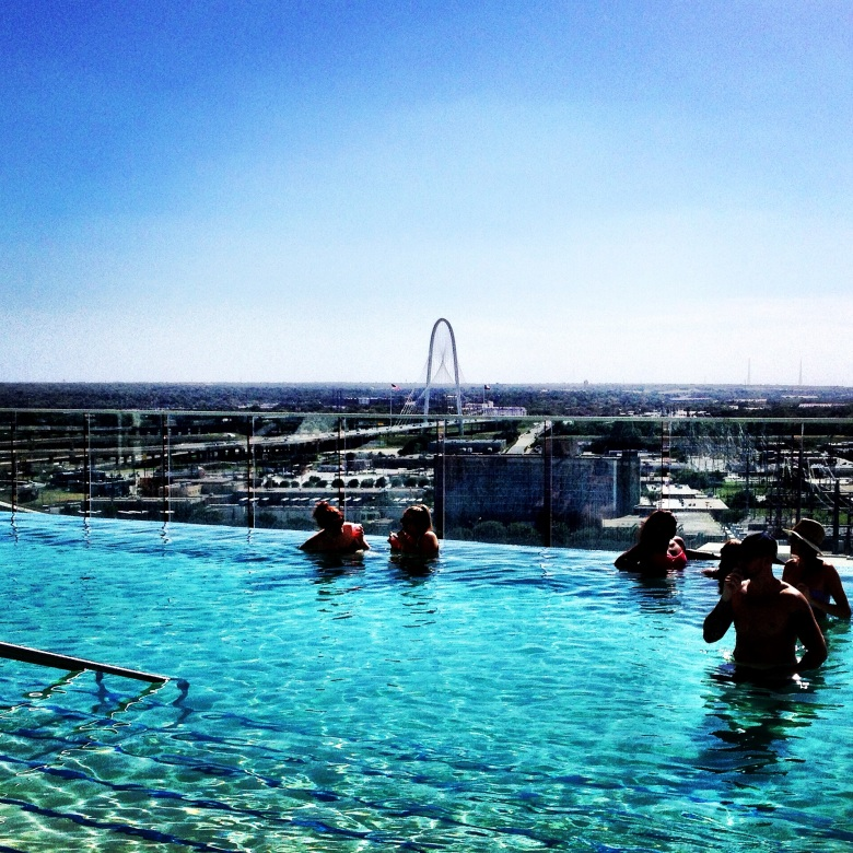 The W Hotel Infinity Pool was pretty awesome.
