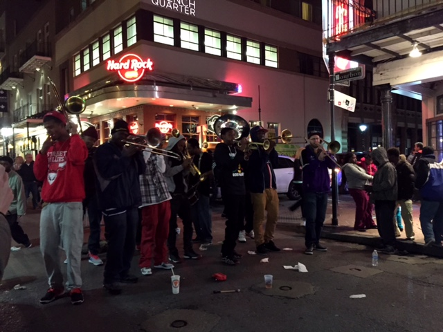 These guys played some awesome music on Bourbon Street.