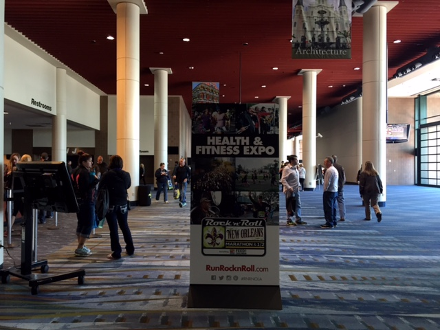 RnRNOLA's Health and Fitness Expo was at the New Orleans Convention Center.