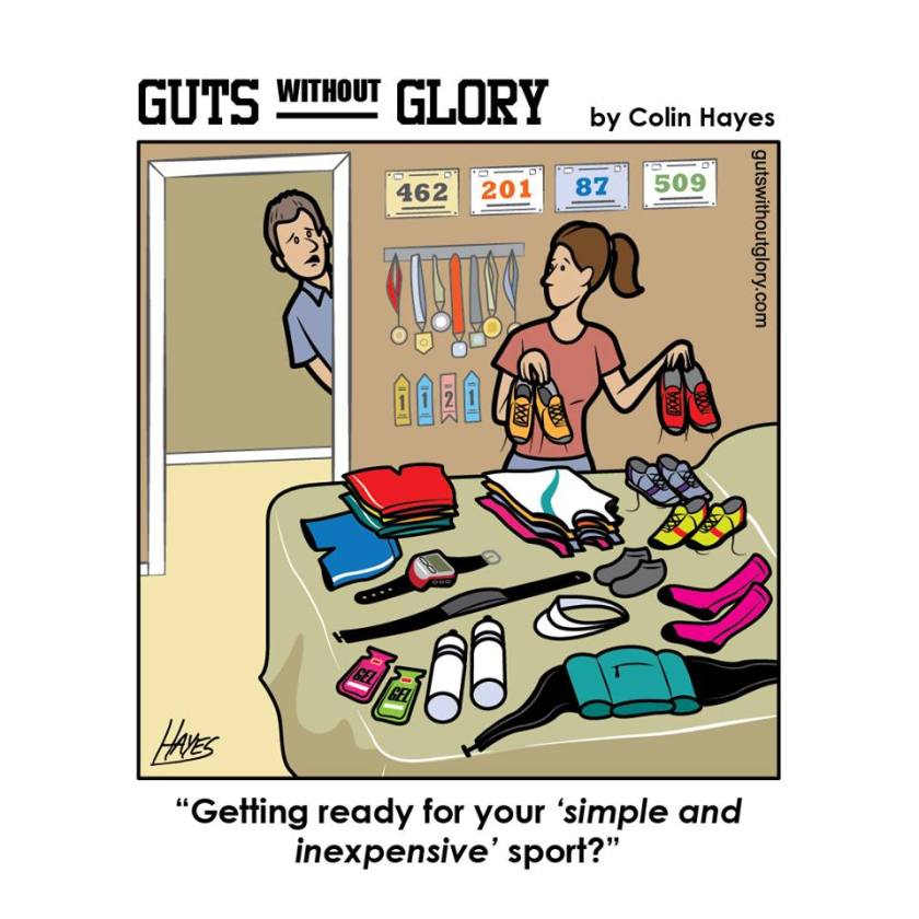 Image: Colin Hayes, Guts without Glory
