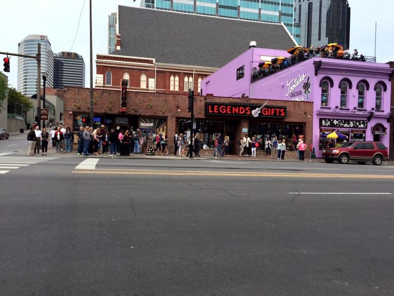 Legends Corner in Nashville.