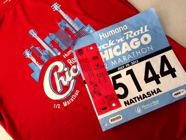 Rock n Roll Chicago bib and shirt