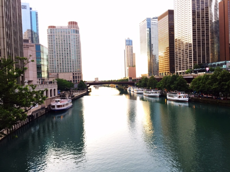 Chicago, you are a beautiful city.