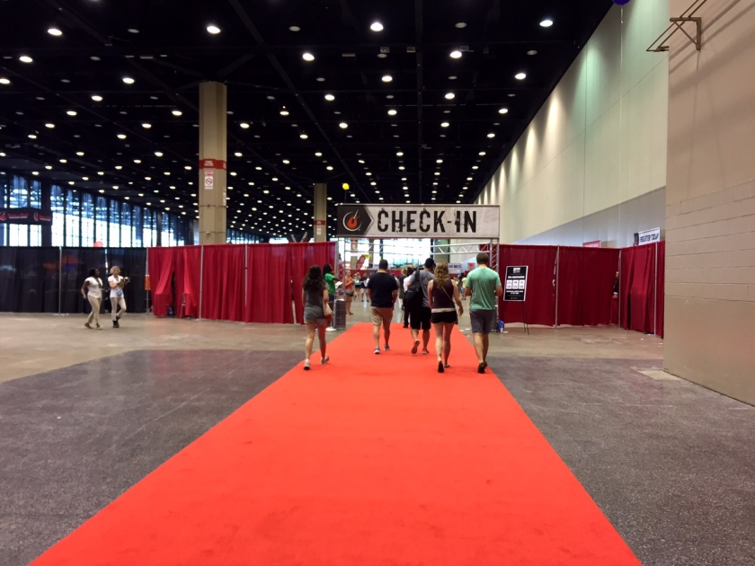 The Health and Fitness Expo at McCormick Place.