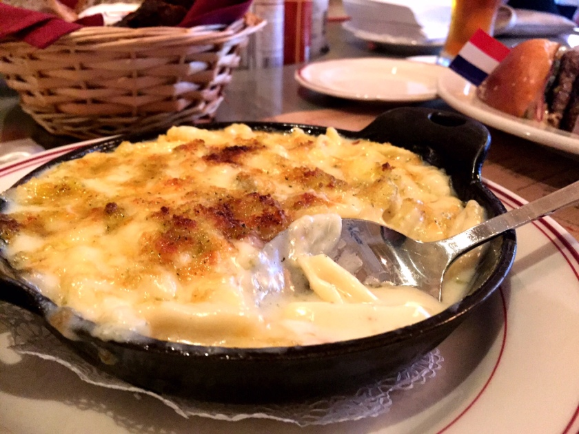 Le Diplomate's mac and cheese is fantastic.