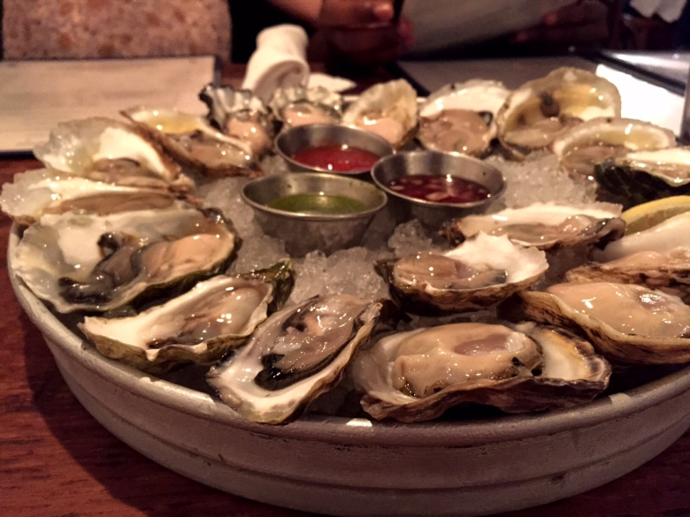 Oysters from Peal Dive Oyster Palace.