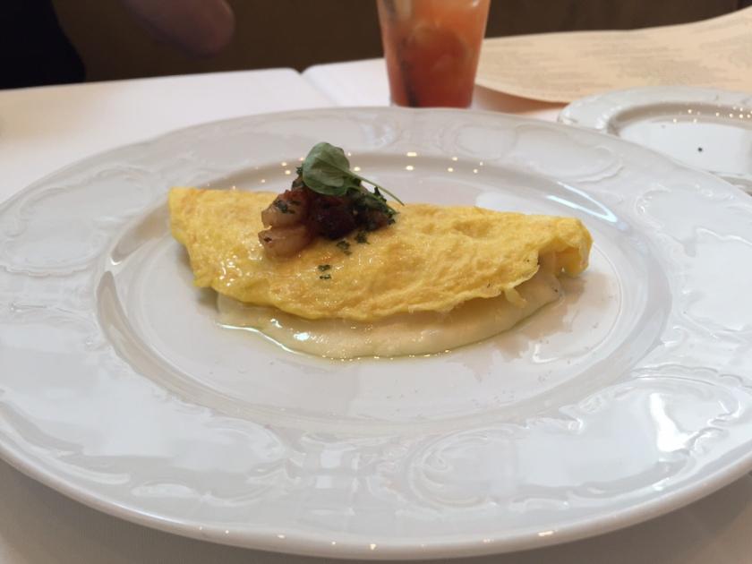 A pretty omelet.