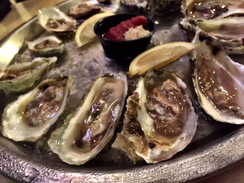 Oysters at Oyster House in Fenwick Island, Delaware.