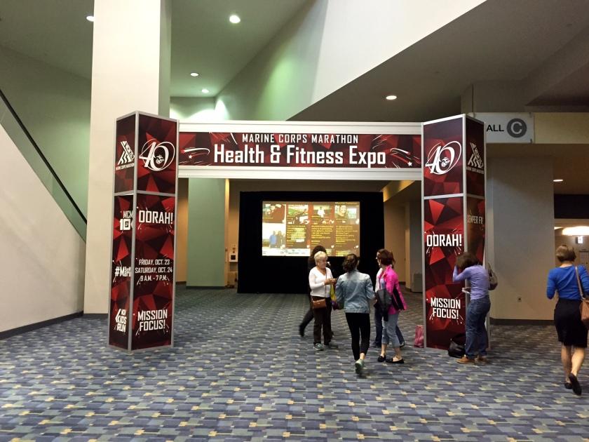 Marine Corp Marathon Expo