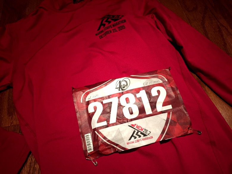 Got my bib and shirt!