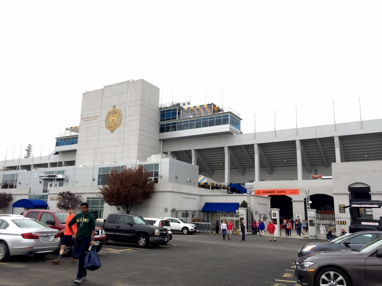 The expo was held at the Navy Marine Corps Stadium in Annapolis.