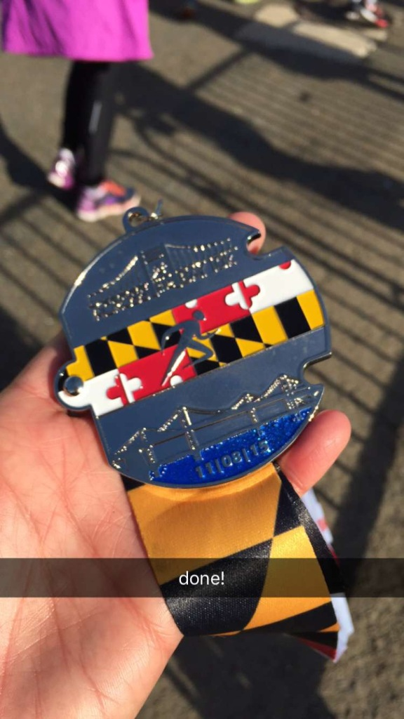 The puzzle piece medal!