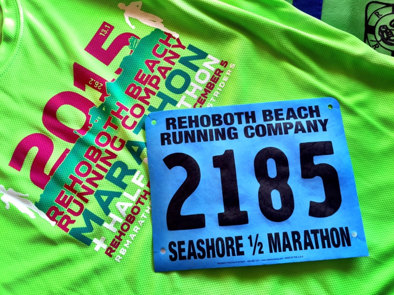 Ready for the Rehoboth Beach Half Marathon!