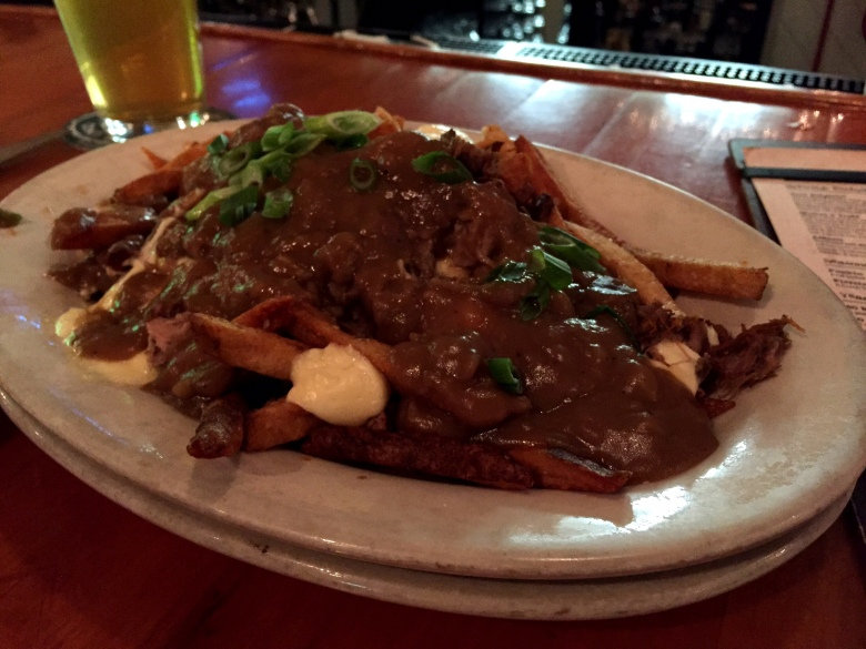 The duck poutine at Dogfish Head is delicious.