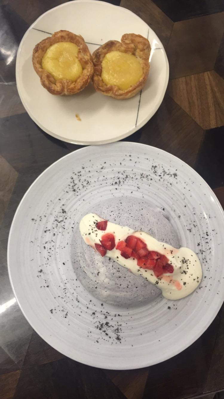 And dessert!