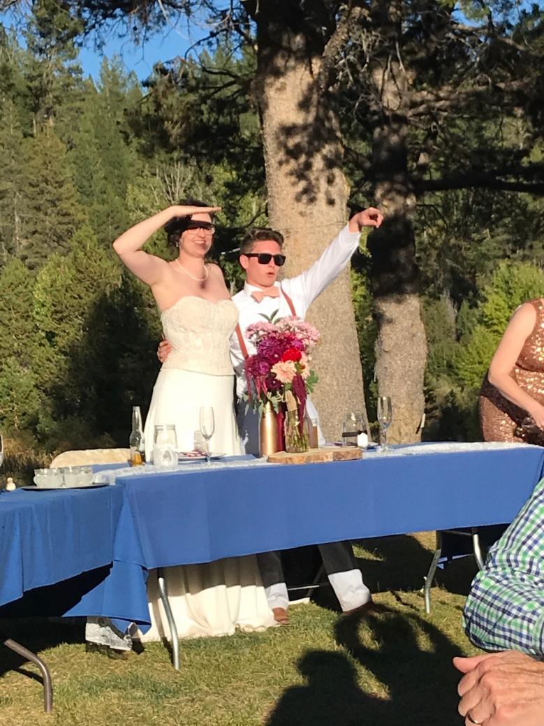 Celebrating Rachel and Troy in Truckee, California!