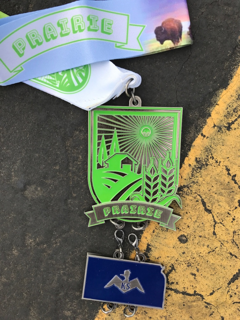 State #23 - Hiawatha, Kansas for the Mainly Marathons Prairie Series Kansas Half Marathon