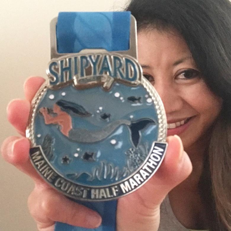 State #21 - Portland, Maine for the Maine Coast Half Marathon