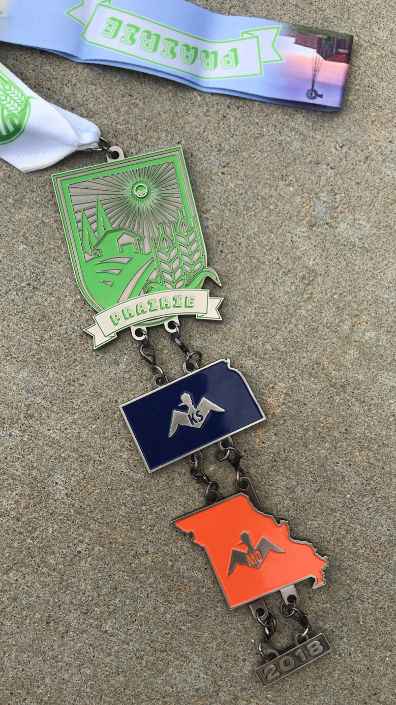 State #24 - St. Joseph, Missouri for the Mainly Marathons Prairie Series Missouri Half Marathon