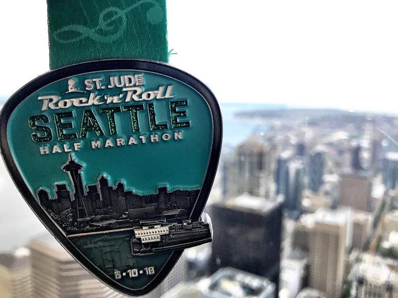 State #22 - Seattle, Washington for the Rock 'n' Roll Seattle Half Marathon